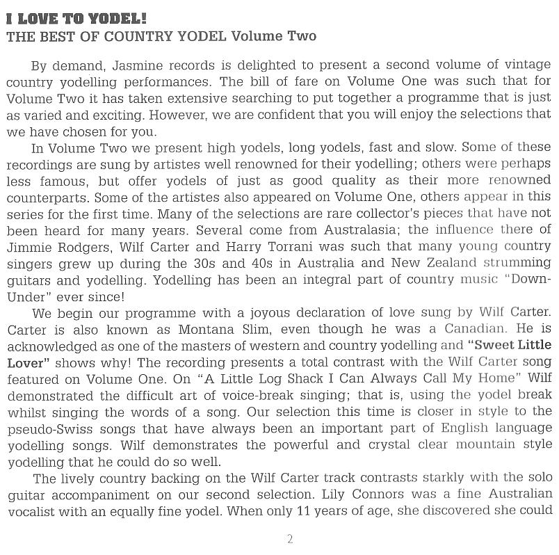 Liner notes by Paul Hazell, July 2003