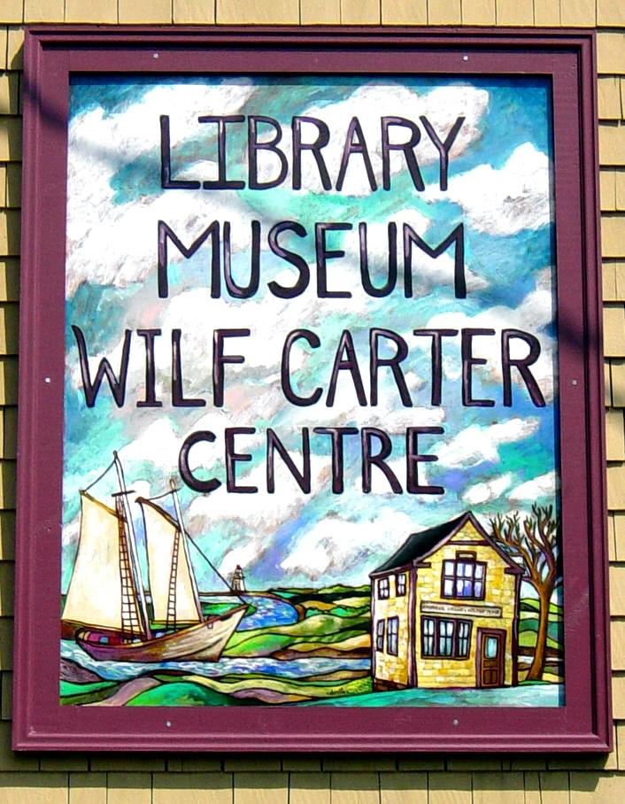 The new sign on the Canning Heritage Centre