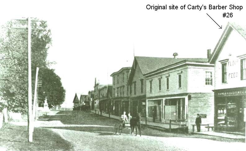 Canning's Main Street in the early 1900s