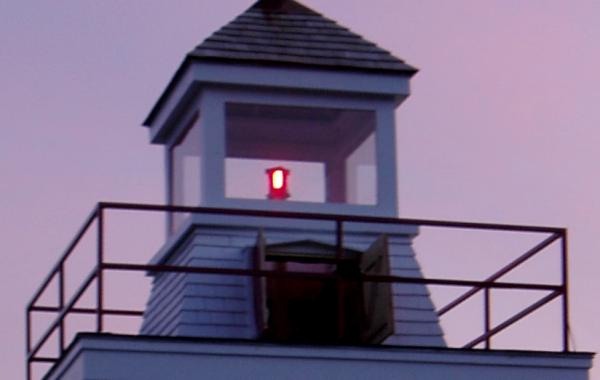 Relighting of the Canning lighthouse, 4 September 2004