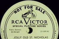 Wilf Carter RCA Victor 78rpm record label