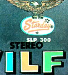 Jacket detail: Wilf Carter record 33rpm LP Gusto (Starday) SLP-300